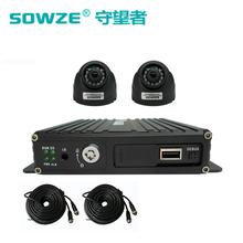 SD卡车载监控主机套装四路720P车载录像机货车停车监控图片