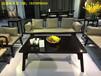 实木沙发组合小户型客厅整装全实木布艺新中式木家具沙发
