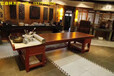 老板桌椅组合实木大板简约新现代