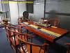 家具定制小叶紫檀黄金樟大板巴花奥坎书画案实木老板桌会议桌