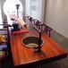 檀笑古今新中式红木家具黑檀实木大板