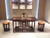 檀笑古今福州新中式家具实木轻奢风格黑檀客厅家具