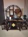 檀笑古今鄭州新中式家具實木客廳家具廳柜出售