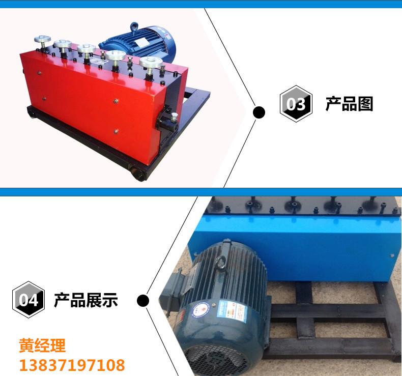 青海海东地区钢绞线穿索机实用河南豫工机械有限公司
