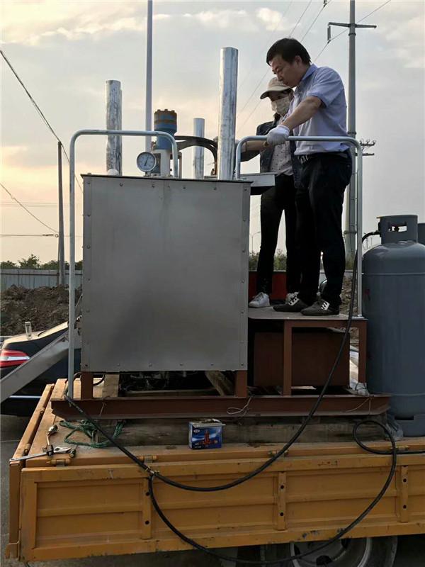 西安雁塔路面热熔划线机售后有保障