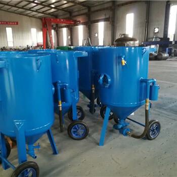江西省抚州市移动式喷砂机简介豫工机械设备
