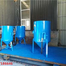 金昌市高压水喷砂机需要喷砂房豫工机械图片