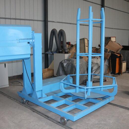 廣州市番禺中型鋼筋籠繞筋機面積小操作簡單方便