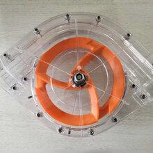 料线转角猪舍自动上料设备配件转角轮不锈钢转角塑料透明铸铝转角轮