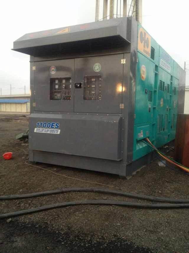 唐山路北400kw发电机出租点击成功案例唐山路北