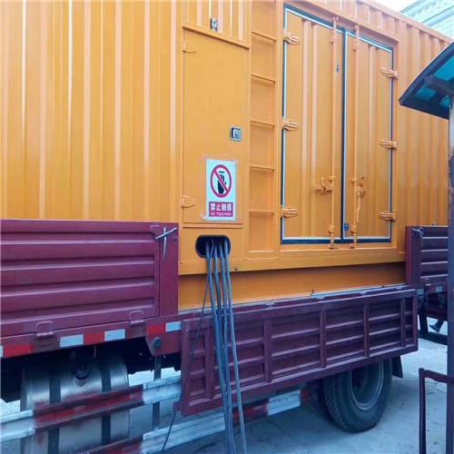 六安發電機出租800kw供電服務商