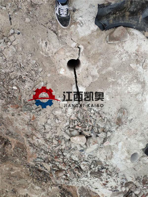 分裂器挖掘机破石器那里有有哪些挖掘机劈裂机毕节
