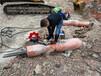 承德分石器劈裂机供应破除拆混泥土采石场胀裂机