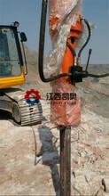 咸陽破裂機劈裂機那種好頂管開挖巖石開石器圖片