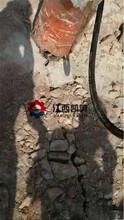開山劈石機破樁用的風鎬打不動劈裂器柴油型劈石機海東圖片