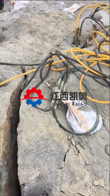 牡丹江机载胀裂器开挖竖井劈石机液压胀石器