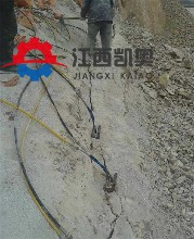 宜昌地基开裂器破碎锤石方开挖单价太高裂劈机液压破裂器机图片
