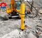电动型劈裂机岩石劈裂机公路扩建