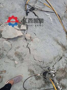 小型劈裂机多少钱青海黄南开采荒料视频