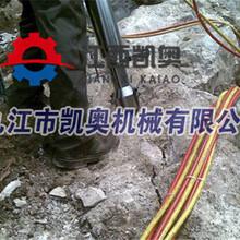 手持劈裂机小号劈裂器使用视频福建南平图片