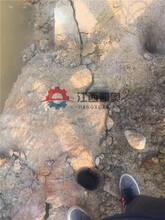 分裂机石头破裂机结构型号开山炸裂机揭阳图片