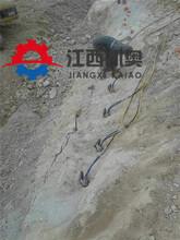 采石场采石机每小时能产多少破石棒开山快的设备郑州图片
