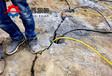 矿山机载式劈裂机液压劈裂棒水坝建设
