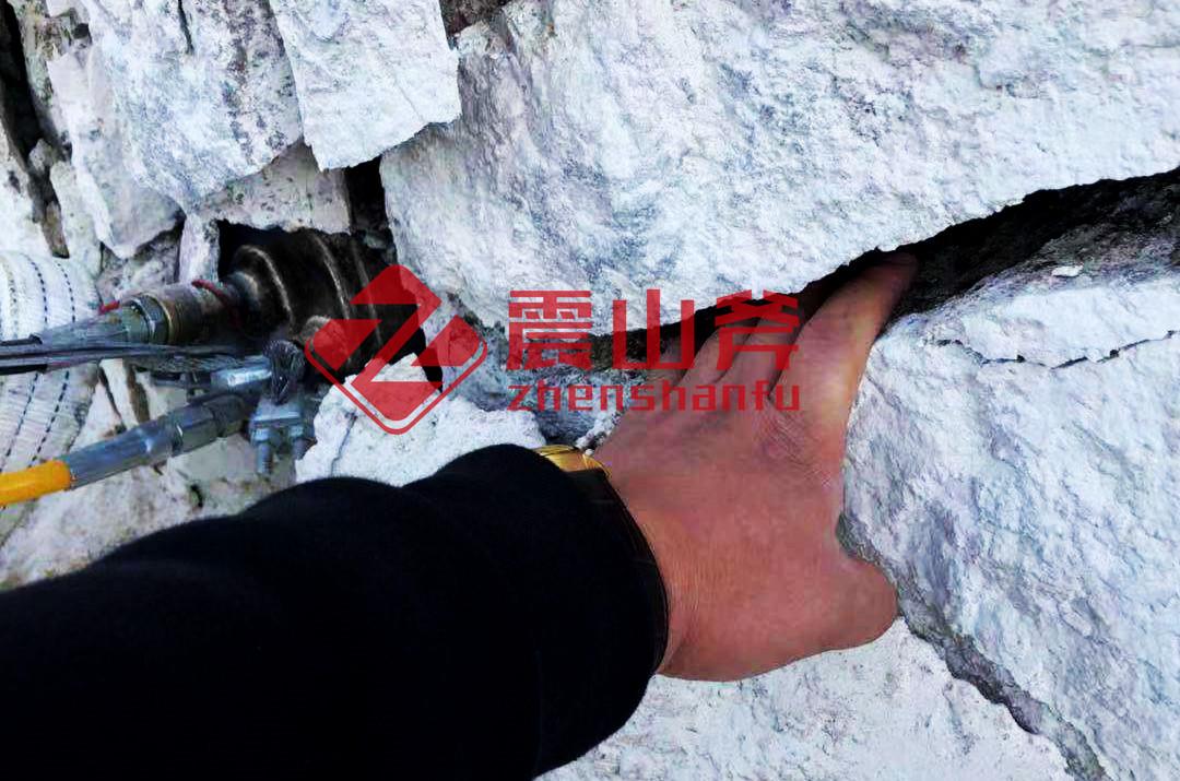 扬州岩石静态爆破机江西震山斧