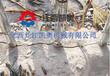 淮南岩裂机劈裂器多少钱顶管开挖坚硬岩石头巷道分石机
