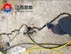 液压裂石机顶管开挖岩石柱塞式劈裂棒生产厂家