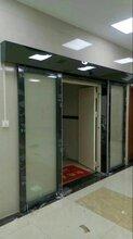 重庆市南岸区自动门安装报价玻璃平移感应门安装报价图片
