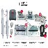 重庆市渝中区庭院90度对双开大门电动门自动开门机闭门器安装
