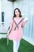 韩版卡通时尚圆领印花T恤印花情侣装批发厂家直销牛仔裤