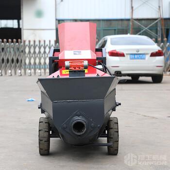 吉林小型混凝土保送泵工地浇筑二次结构上料机结构柱保送泵
