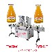 双头定量液体膏体灌装线蜂蜜口服液灌装旋盖机全自动灌装机