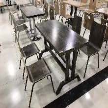 學校食堂餐桌椅餐桌椅批發餐桌椅價格超市餐廳餐桌椅圖片