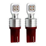 LED汽车灯40WT10/W5W汽车灯红光黄光蓝光白光