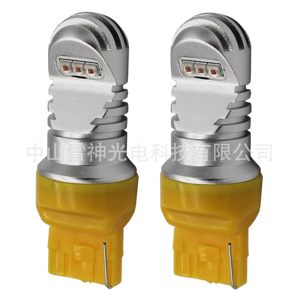 中山LED车灯厂家直销LED转向灯倒车灯T20