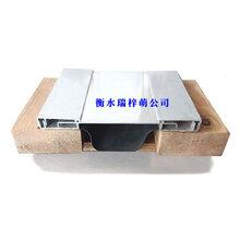 衡水加工铝板镀锌板室外内外墙屋面地面顶棚伸缩变形缝盖板图片