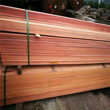 上海辉森红柳桉原木加工柳桉木板材柳桉木美人靠柳桉木200200立柱加工