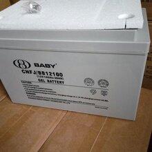 鸿贝铅酸蓄电池12v100ah蓄电池FM/BB12100T机房设备UPS电源专用包邮