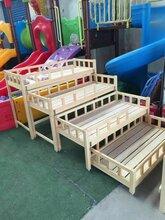 固始潢川幼兒園上下床/幼兒園三層床定做源頭大廠規格全價格低
