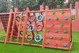 幼兒園學校戶外木制攀爬架組合裝備設施