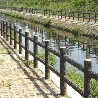 惠州仿木栏杆厂家直销民通装饰仿木栏杆性价比最高