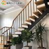 全国批发各种款式钢木楼梯家用阁楼楼梯艺步楼梯厂