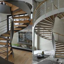 请问钢木楼梯的优缺点有哪些图片