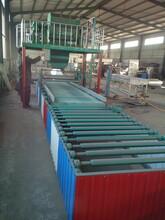 玻镁板设备氧化镁防火板生产线自动化玻镁板生产线设备厂图片