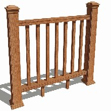 塑木欄桿塑木護欄圍欄柵欄福建木塑欄桿廠家包安裝圖片