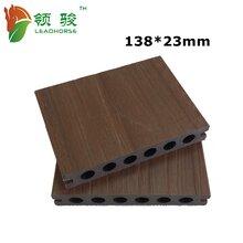 木塑共挤地板庭院游泳池专用地板福建领骏防腐耐磨塑木地板