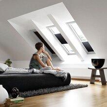 歐洲進口威盧克斯velux室內風琴窗簾圖片